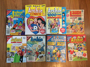 Archie comic books- lot of 8