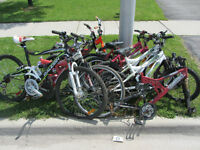 Bikes and bike parts for free at curbside