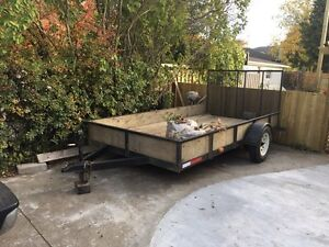 12' trailer with 4' ramp
