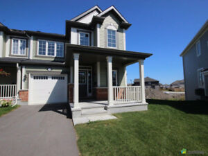 New townhouse End unit in Kanata, 2 minutes to 417