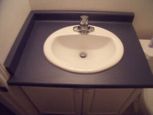 Beautiful counter top and sinks