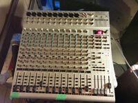 Behringer Eurorack Mixing board