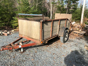 SOLID UTILITY TRAILER (Wellington)