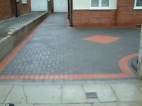 Block paving flagging concrete driveways and patios landscaping and building specialists