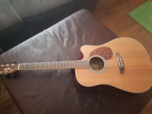 guitar, 6 string. made by Cort guitars. Barely used. 150$