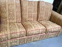SETTEE ONLY NO CHAIRS £50