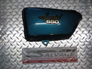 1978 yamaha xs-650 special  oem side covers London Ontario image 3