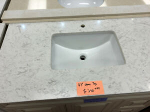 demo vanity countertops on S-A-L-E!! various sizes!!