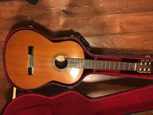 Samick Classical Guitar with case