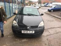 Renault Clio 1.2 Rush 3 DOOR - 2005 55-REG - 4 MONTHS MOT