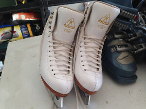 Patins Size 4.5 C  Jackson (elle) skates with Mirage (9) blade