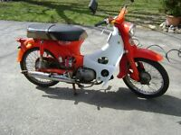 1960s Honda Cub Scooter For Project