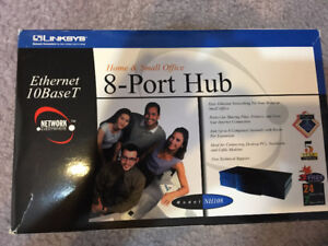 Linksys Home & Small Office 8-Port Hub