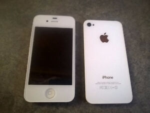iPhone 4 screen and back (white)
