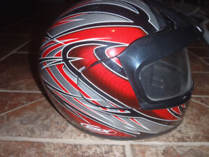 Snowmobile man Helmet  CHX Large