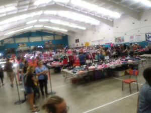 Huge children's consignment sale TODAY!