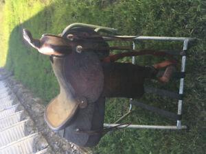 """15 """" Western Saddle"""
