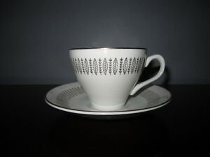 """""""ROYAL KNIGHT TRADITIONAL DINNERWARE"""" CUP & SAUCER"""