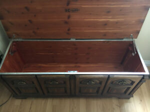 Huppe Brothers Cedar Lined Blanket Chest