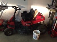 Sears riding lawn mower. Needs diff work