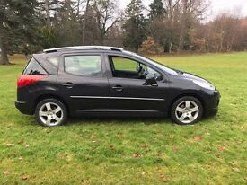 Peugeot 207 sw 1.6 vti sport only 46k open to serious offers