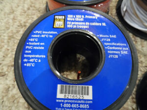 Primary Wire #12 16 18 gauge x 100ft spools New Bulk Lot  Bulk Kitchener / Waterloo Kitchener Area image 2