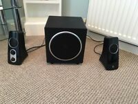 Logitech speakers in excellent condition