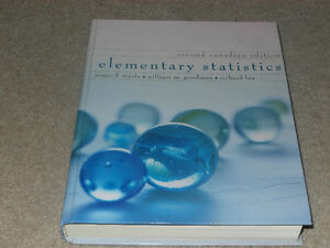 Elementary Statistics Cambridge Kitchener Area image 1