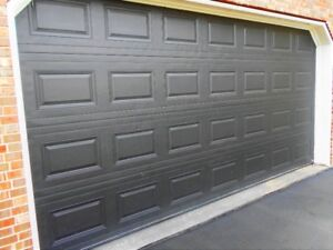 8X16 Insulated Garage Door