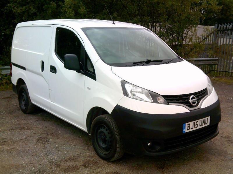 Nissan Nv200 1.5 Dci Acenta Van DIESEL MANUAL WHITE (2015)
