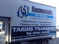 Tardis Transport and Removals, Professional Removal Service. Man and a van.