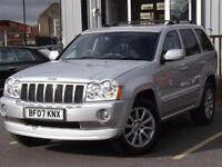 2007 Jeep Grand Cherokee 3.0 CRD Overland 5dr Auto 5 door Estate