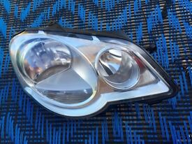 VW Polo Driver Side Head Light, 2005-2009 facelift model, Headlight