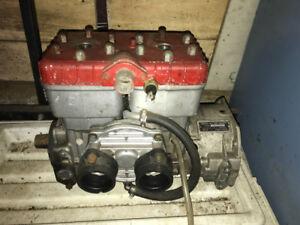 Skidoo 440 motor