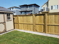 Fences, decks and landscaping