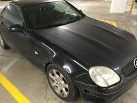 1999 Mercedes SLK230 Manual trans