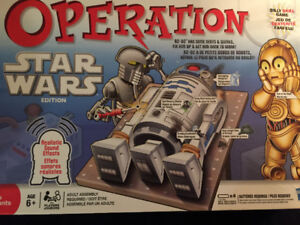 Jeu jouet operation Hulk + operation Star Wars