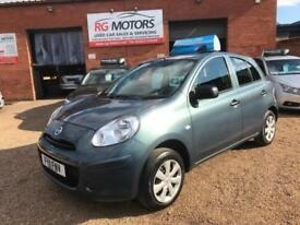 2011 Nissan Micra 1.2 12v ( 79bhp ) Visia, 5dr Hatchback, **ANY PX WELCOME**