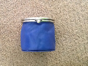 Blue Danier coin purse