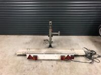 Motorcycle carrier hydraulic easy lifter no ramp required