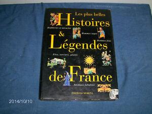 LES PLUS BELLES HISTOIRES & LEGENDES DE FRANCE-MORENA-1996