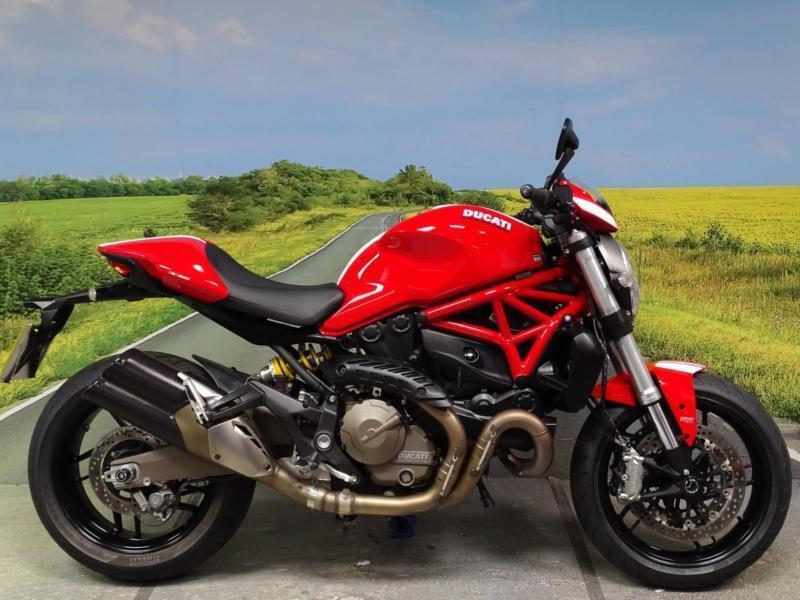 Ducati Monster Stripe 821 2015 Super Low Mileage Example In