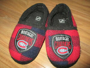 Montreal Canadiens slippers