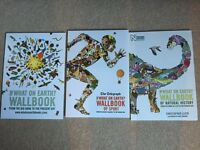 3 wall books