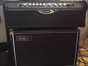 Line 6 spider 150w and 2x12 cab leyland(ottawa custom)