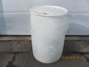 45 Gallon Plastic Drums Asking $30
