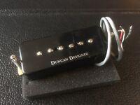 Set of Duncan P90 pickups