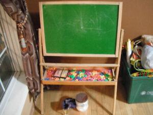 Chalk/magnetic board