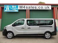 Vauxhall Vivaro 9 Seater Lwb Minibus A/C Alloys New Shape