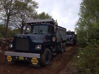 Trucking & excavating